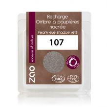Recharge fard à paupières nacré - brun gris - 107 - 3 g