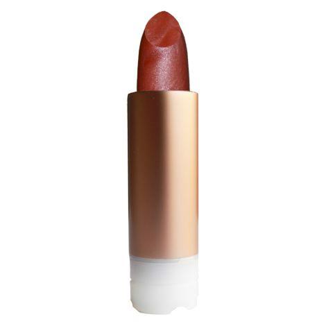 Recharge rouge à lèvres nacré - brun rouge - 404 *