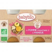 Pommes d'Aquitaine et mangue (dès 4 mois) - 2 x 130 g