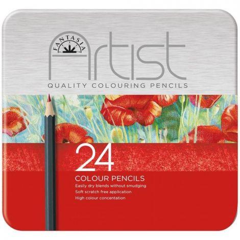Boîte de 24 crayons de couleur - à partir de 3 ans