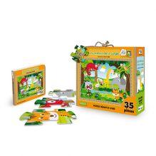 Puzzle géant Les animaux de la Jungle 35 pièces - à partir de 3 ans*