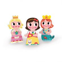 Funny Magnets - Princesses - à partir de 18 mois