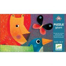 Puzzle géant - La parade des Animaux - A partir de 4ans