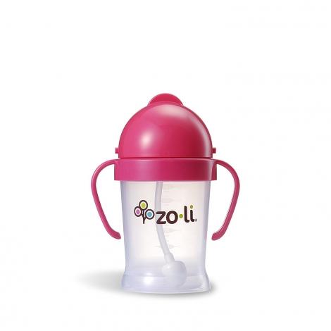Gobelet avec paille  Sans BPA ni phtalate Rose - 270 ml
