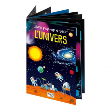 Livre Pop up 360 ° L'Univers A partir de 5 ans