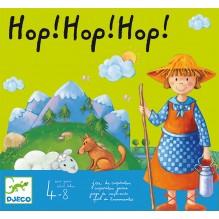 Jeu de coopération 'hop! hop! hop!' - à partir de 4 ans