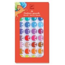 Boîte à peinture '36 couleurs' gouache - à partir de 3 ans