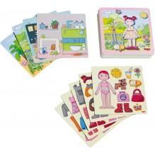 Boîte de jeu magnétique 'Poupée Lilli à habiller' - à partir de 3 ans