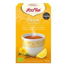 Infusion Détox au citron 17 sachets