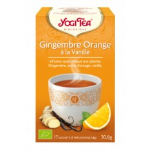 Infusion Gingembre Orange 17 sachets