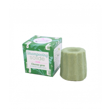 Shampooing solide cheveux gras Herbes folles  55 g