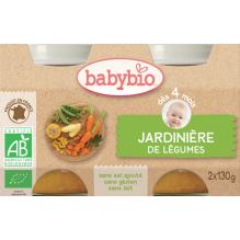 Jardinière de Légumes (dès 4 mois) - 2 x 130 g
