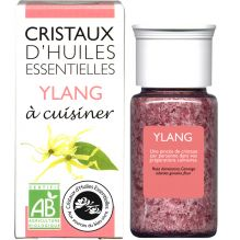 Cristaux d'huiles essentielles à cuisiner - ylang - 18 g PEREMPTION fin 12/2019