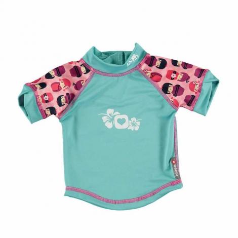 T-Shirt anti-UV - Poupée Kokeshi