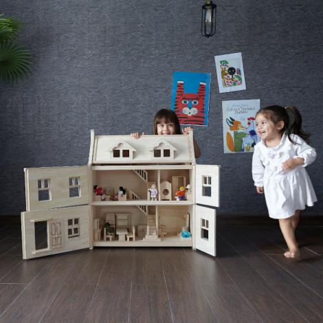 La Maison De Poupees Victorienne Jouet En Bois Plan Toys