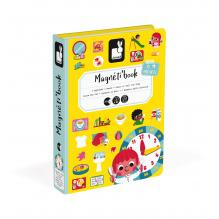Magnéti'book J'apprends l'heure à partir de 3 ans