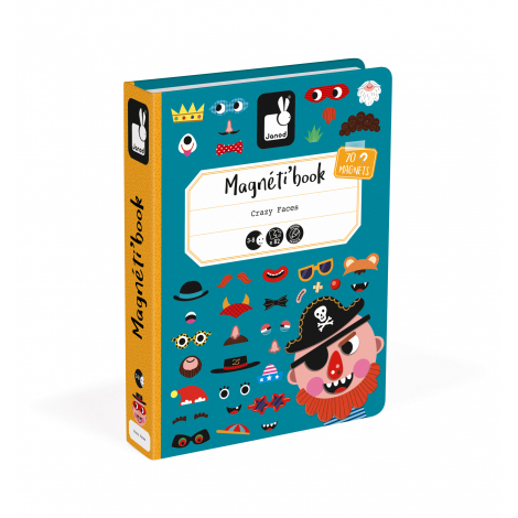 Magnéti'book Crazy Faces garçons à partir de 3 ans