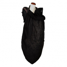 Couverture de portage Flex Vogue Exclusive + cagoule - Black