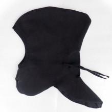 Bonnet lutin / cagoule chaude ajustable 0 / 2 ans - Black