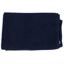 Couverture en laine - bleu nuit