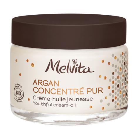 Argan concentré pur BIO Crème huile jeunesse - 30 ml
