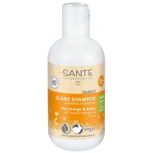 Shampooing brillance - orange bio et coco - 200 ml