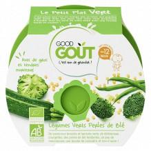 Légumes verts et perles de blé - 220 g - à partir de 12 mois