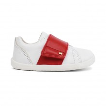 Chaussures Step up - Boston Trainer White + Red - 729906