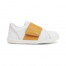 Chaussures I walk - Boston Trainer White + Chartreuse - 635309