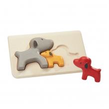Puzzle famille chiens - à partir de 18 mois