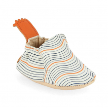 Chaussons BLUMOO WAVE blanc/denim