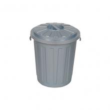 Seau à couche grande taille gris - 23 litres