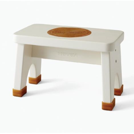 Tabouret en bois - Blanc