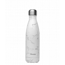 Bouteille nomade isotherme - 500 ml - Marbre blanc