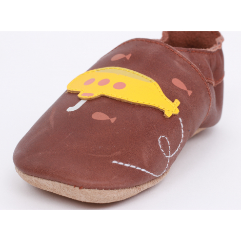 Chaussons - 1000-005-14 - Sous marin Toffee