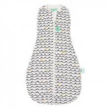 Cocon d'emmaillotage et sac de couchage en bambou - Waves - 0,2 TOG