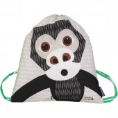 Sac d'activités enfant en coton BIO - Gorille