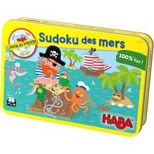 Jeux de voyage Sudoku des mers