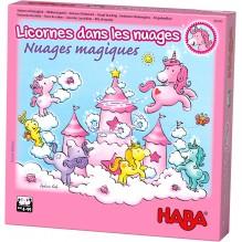 Jeu Licornes dans les nuages - Nuages magiques