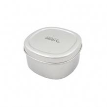 Boîte ronde en inox - Bundi - 650 ml