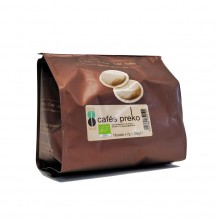 Café BIO -  pads - 18 pads