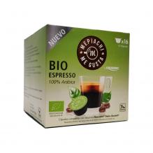 Café BIO  en capsule - espresso 100 % Arabica - 16 capsules