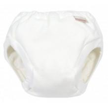 Culotte d'apprentissage en coton bio  - Blanc