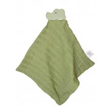 Doudou crocodile - Vert - dès la naissance