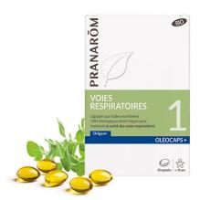 Oleocaps + BIO N°1 - Voies respiratoires - 30 capsules - A partir de 18 ans