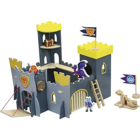 Mon château trop fort !  en bois - à partir de 3 ans