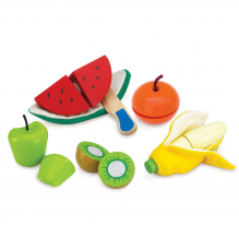 Lot de fruits à éplucher et à couper - à partir de  3 ans