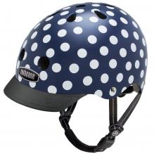 Casque vélo - Street - Navy Dots - S