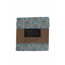 Pochette en coton à collations - 14 x 14 cm - Mandalas