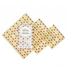 Emballages alimentaires à la cire d'abeille - Trio pack - Tulipes